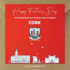 Sendsomelove Father Day Card CORK