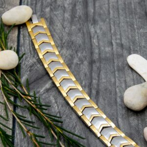 Sage Mens Magnetic Bracelet