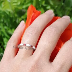 Breastmilk ring with birthstones sterling silver breast milk ring