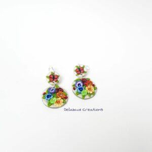 Raised Chakra Earrings b