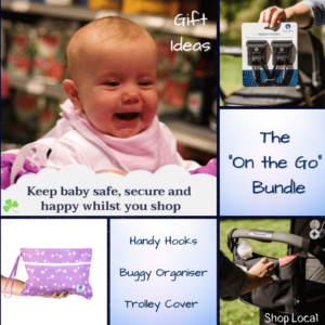 The On the Go Bundle Purple Trolley Cover