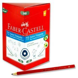 Faber Castell Junior Triangular Grip Pencil HB