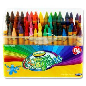 Box 64 Crayons