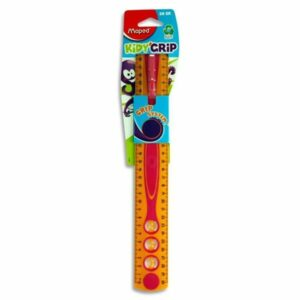 30cm Kidy'grip Ruler orange