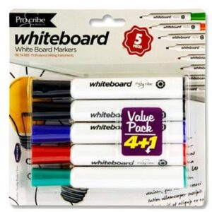 Pro; Scribe 4+1 Dry Wipe Marker