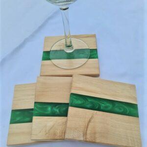 Green Popular Wood