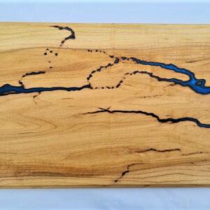 Blue Lichenberg Chopping Board