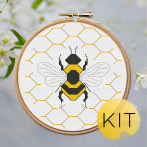 Spring-Bee-crossstitch-kit
