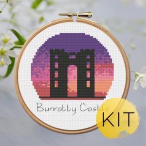 Bunratty-Castle-crossstitch-kit
