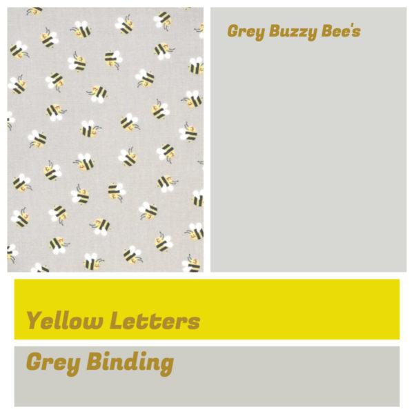 Grey Buzzy Bee's