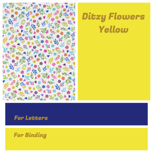 Ditzy Flowers Yellow