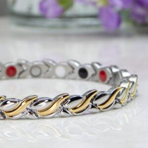 Spring Beauty Womens Magnetic Bracelet