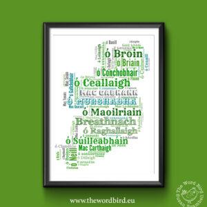 Irish surnames The Word Bird
