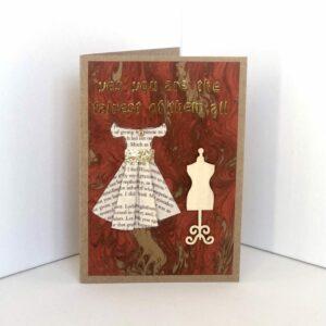 Dressy Happy Birthday Card