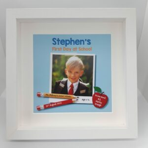 First_day_school_ boy_personalised_photo