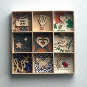 love wooden plaque