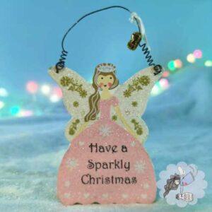 christmas tree fairy decoration