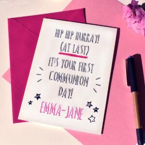 GIRL PIC CARD - sii