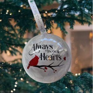 Always in our hearts Xmas