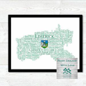 Limerick All Ireland Hurling Print Irl