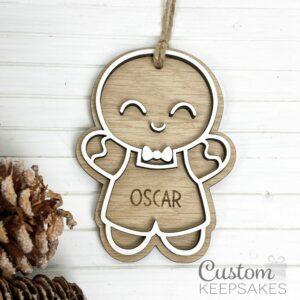 CD016 - Gingerbread Figures - Boy