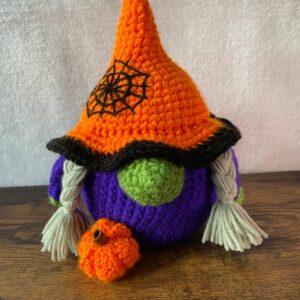 Purple Pumpkin Witch