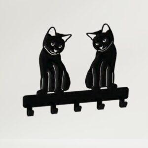 2- Cat Key-Coat Hook Design 300mm