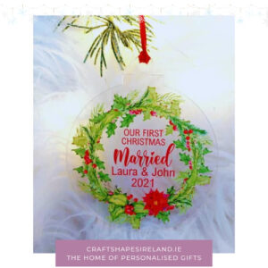 OUr first christmas Marries