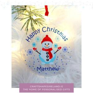 Happy CHristmas Bauble