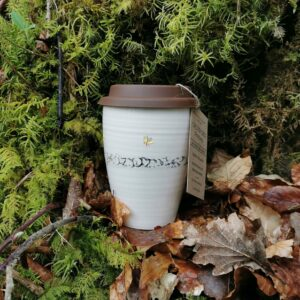 Butterfly Forest Travel Cup