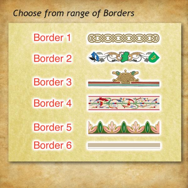 Border-Selection
