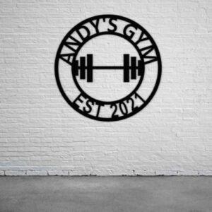 Gym Design- Brick Wall