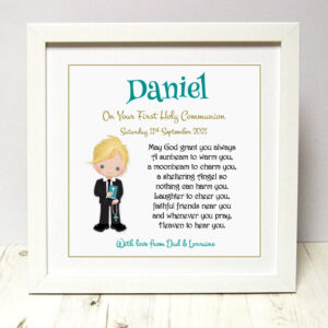 As Cute as a Button Personalised Framed Prints