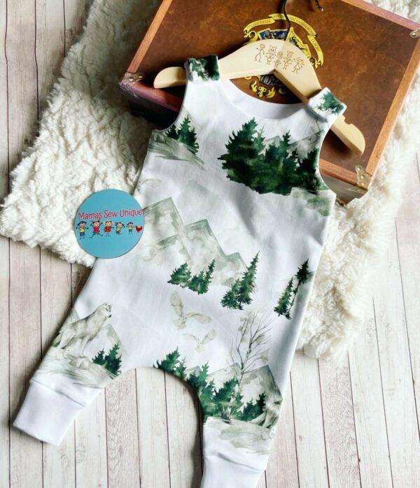 winter white romper