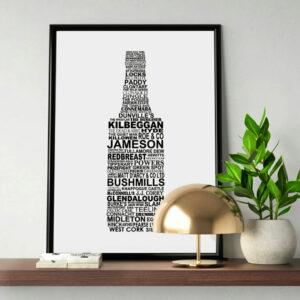 Irish Bottle Print
