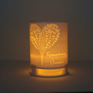 Remembrance Candle Tree of Hearts (2)