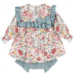 girls-long-sleeve-flowery-dress-and-jam-pants