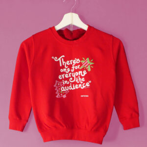 **PRE-SALE** Kids 'TOYSHOW' sweatshirt  - Christmas Red