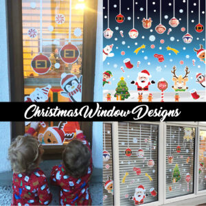 Christmas Window Designs