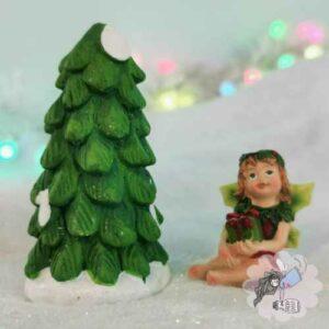 christmas tree fairy village
