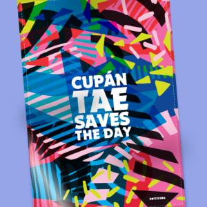 Cupán Tae Tea towel