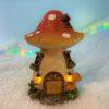 solar fairy house for Christmas