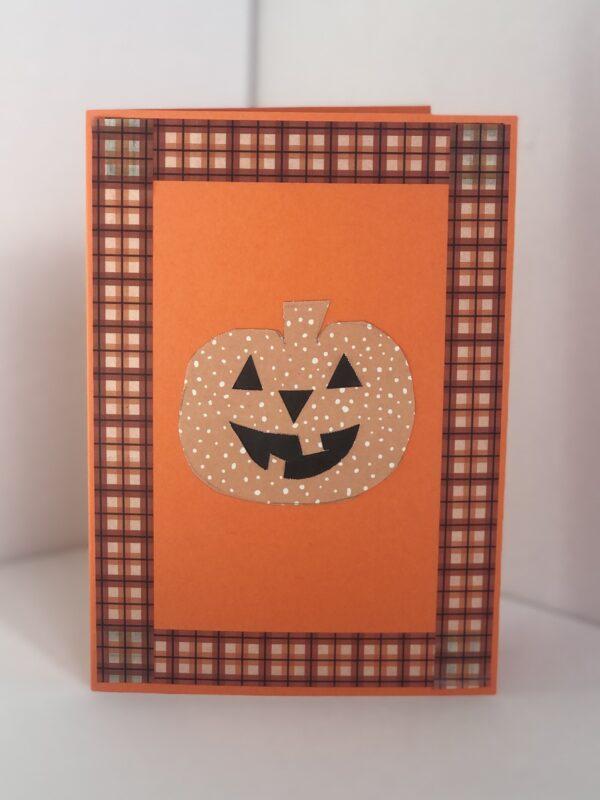 Pumpkin Halloween Card