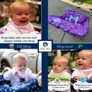 Safe Baby Trolley Cover by Sleepy Stars