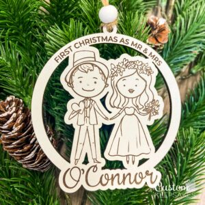 CD034 - First Christmas Doodle Ornament 2