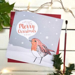 Robin card pic