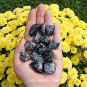 Snowflake Obsidian small