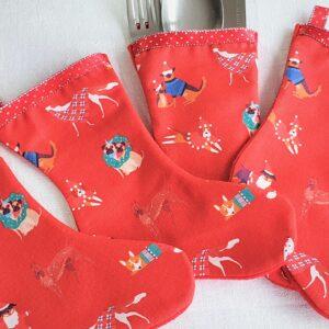 red doggie stocking 5