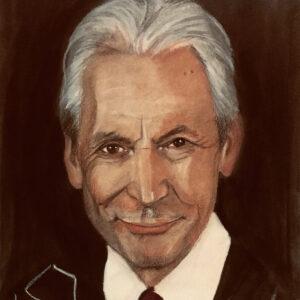 Charlie Watts Portrait