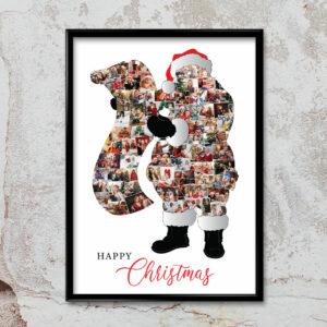 Santa-Framed